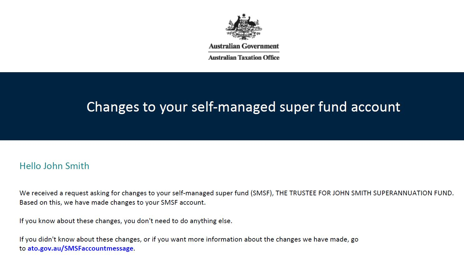 Self-managed super funds | Australian Taxation Office